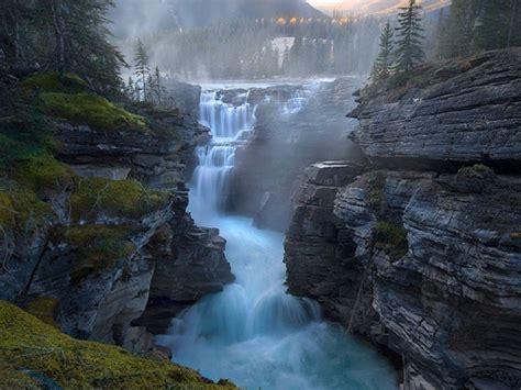 Athabasca Falls Alberta Canada Places Pinterest