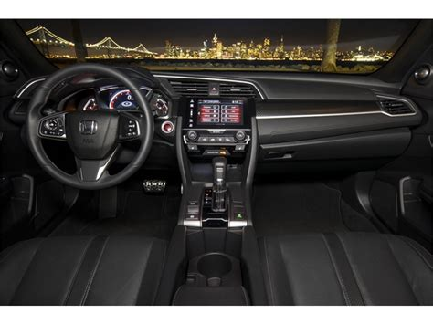 honda civic 2017 interior 2017 honda civic interior u s news world report