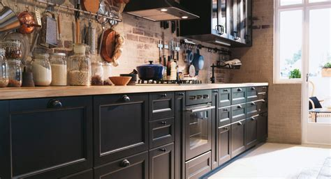 cuisine noir mat ikea a traditional kitchen with cabinets design and ideas