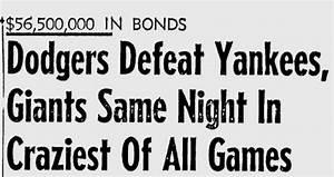 Just because: June 26, 1944 - Dodgers vs. Yankees vs ...