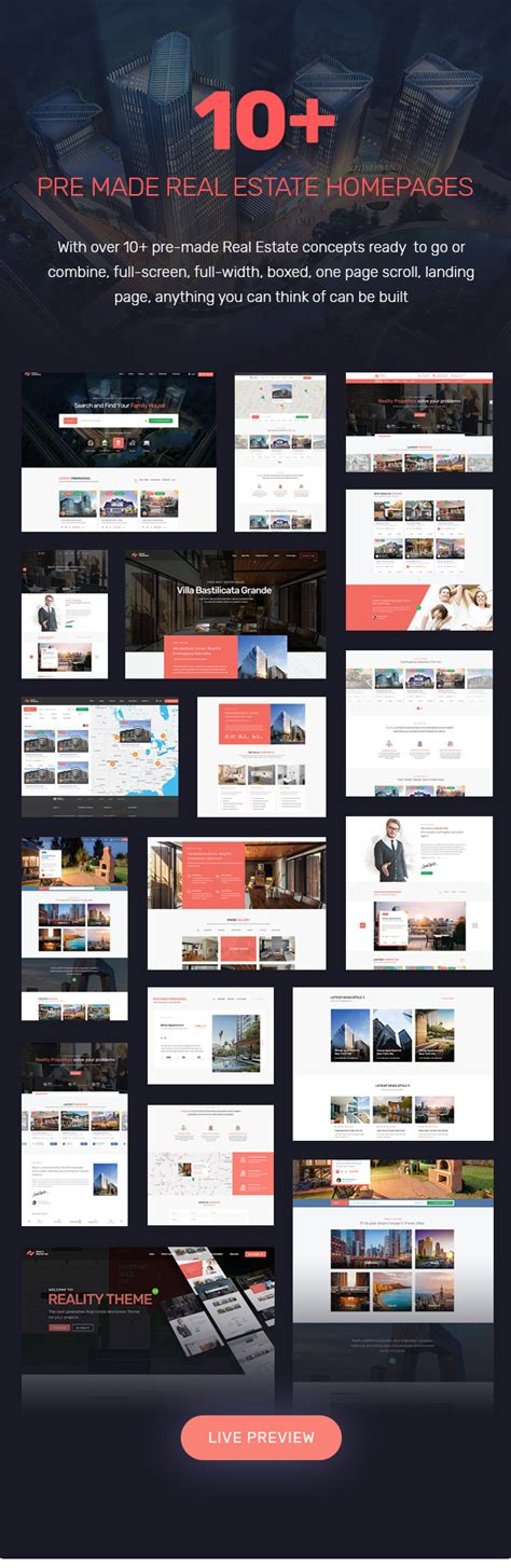 Free Real Estate Themes Reality Real Estate Theme By Inwavethemes