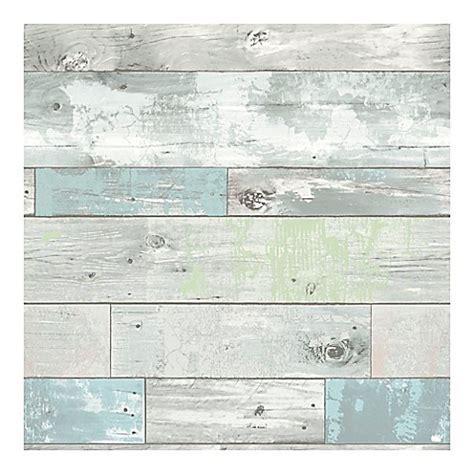 nuwallpaper beachwood peel stick wallpaper bed bath
