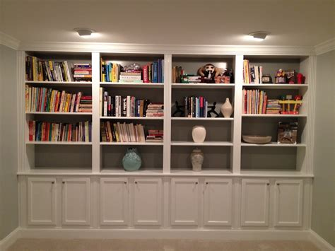 building a bookcase wall pdf diy built in bookcase building plans download building