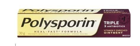 polysporin triple antibiotic ointment  heal fast