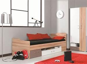 Lit ado avec tiroir puzzle lits pas chers pour chambre for Amenagement chambre ado avec matelas latex 17 cm