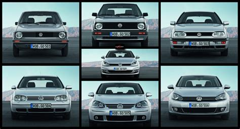 Volkswagen and the Seven Golfs A Brief History of a 38