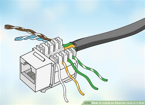 How Install Ethernet Jack Wall Steps