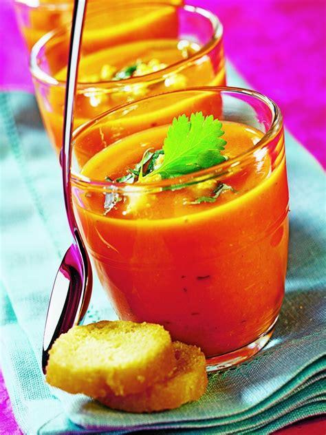 poivron cuisine recette gaspacho poivron tomate