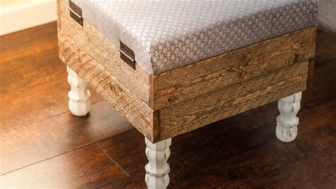 How To Make An Ottoman Out Of A Table by This Beautiful Diy Storage Ottoman Will Make You Want To