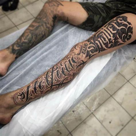 photo leg tattoo      sam taylor