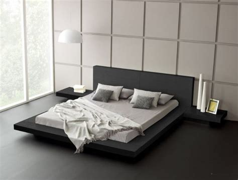 Modern Bedroom Furniture Sydney by Fujian Modern Platform Bed Ash Black Modern Bedroom