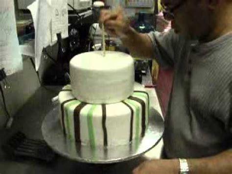 tier fondant cake youtube