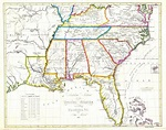 Southeast Us Map Printable New Southeast Us States Blank ...