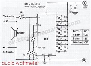 lm3915 projects circuits With lm3915 datasheet