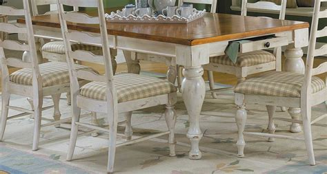 Antique White Dining Room Table by Homelegance Casual Moments Dining Table Antique White 782w