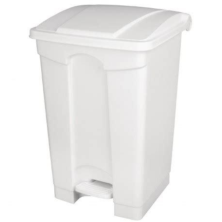 poubelle de cuisine à pédale poubelle de cuisine à pédale blanche 45l