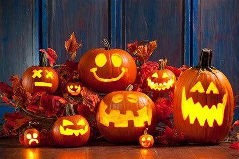 pumpkin faces spooky scary cute  funny ideas