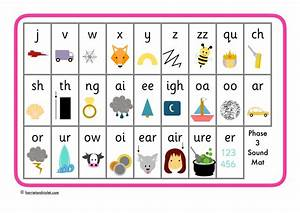 phase 3 phonics sound mat letters sounds free With phonics letters and sounds