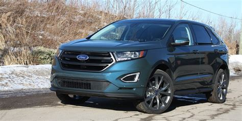 3 sieges auto ford edge sport 2016 bolide polyvalent