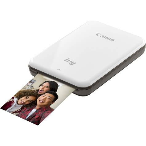 Mini Photo by Canon Mini Mobile Photo Printer Slate Gray 3204c003 B H