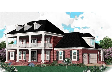 Southern Plantation Home Plans by Southern Plantation Home Plan 087s 0035 House