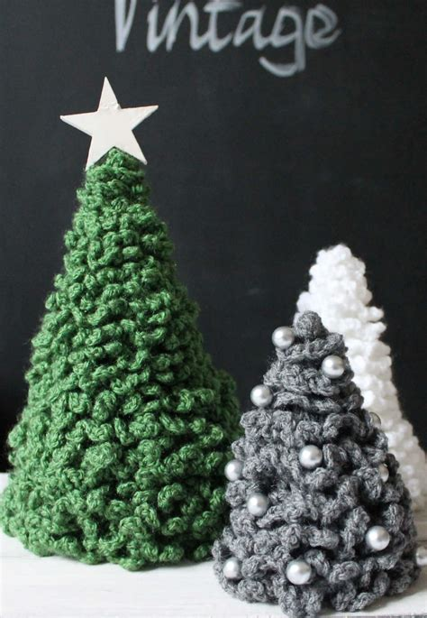 weihnachtsdeko haekel tannenbaum handmade kultur