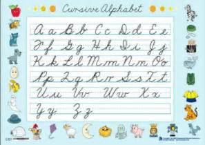 Palabras En Letra Cursiva