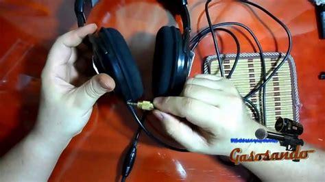 como reparar cable de audifonos falla un lado
