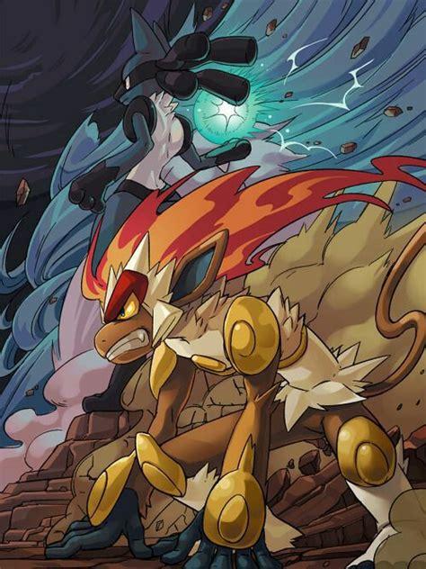 lucario  zoroark pokemon  gang wattpad
