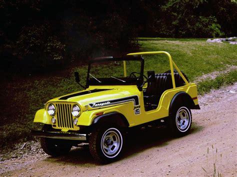 jeep cj renegade jeep heritage 1972 1983 jeep cj 5 renegade the jeep blog