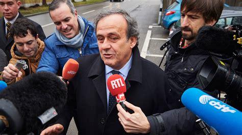 Corruption à La Fifa Fin Corruption à La Fifa Michel Platini Contre Attaque Rtl