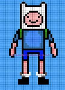minecraft pixel art templates finn from adventure time With how to make minecraft pixel art templates