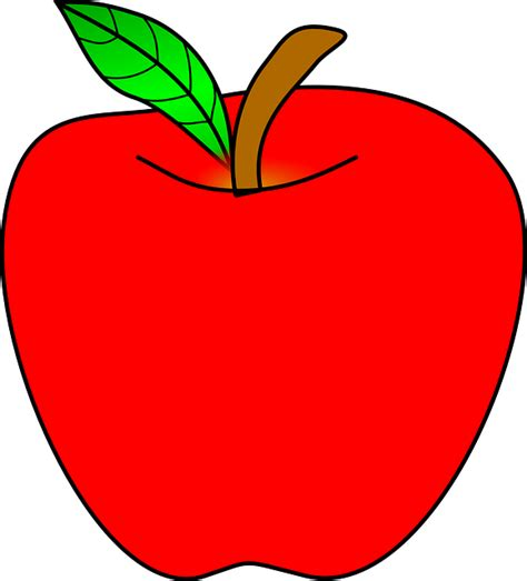 apple clipart png apple ripe 183 free vector graphic on pixabay