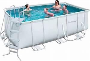 Frame Pool Rechteckig : piscina fuori terra bestway telaio portante rettangolare 412x201x122 h 56456 piscine fuori ~ Frokenaadalensverden.com Haus und Dekorationen