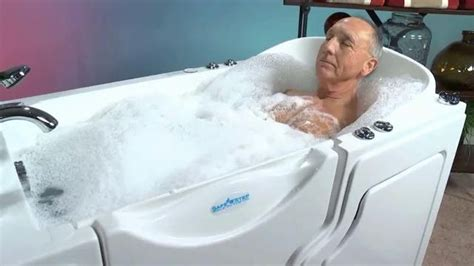 step safe tub safe step walk in tub tv commercial therapeutic bath