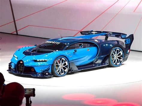 When the target group suddenly grows from 450 veyron owners to several million fans, gamers and high performance aficionados, it is a very exciting matter. Bugatti Vision Gran Turismo Concept revealed - Kelley Blue Book