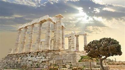 Ancient Greece Athens Greek Wallpapers Temple Ruins
