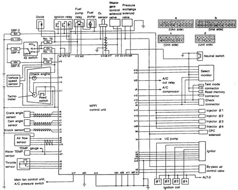 2004 Subaru Radio Wire Diagram by 97 Subaru Legacy Engine Diagram Auto Electrical Wiring