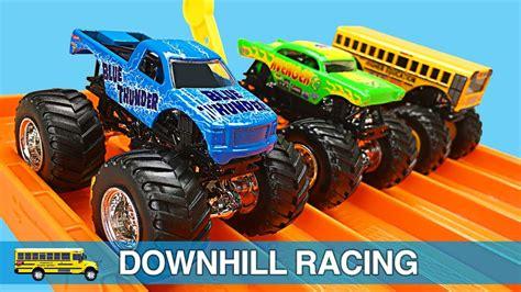 youtube monster trucks racing monster trucks for kids wheels monster jam monster