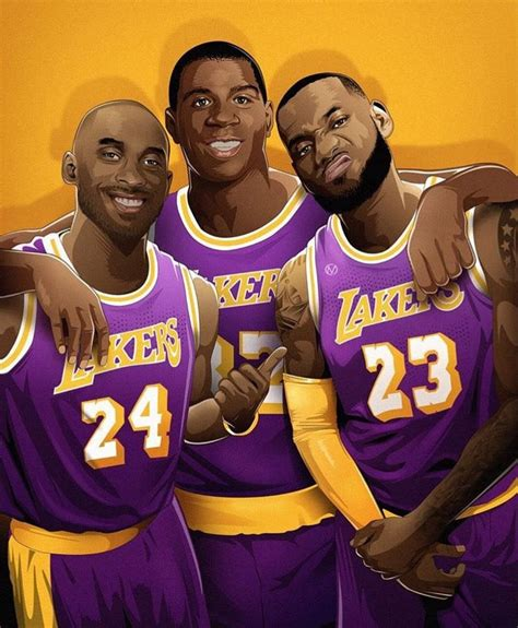 Anyone know the original artist of this Lakers art work ...