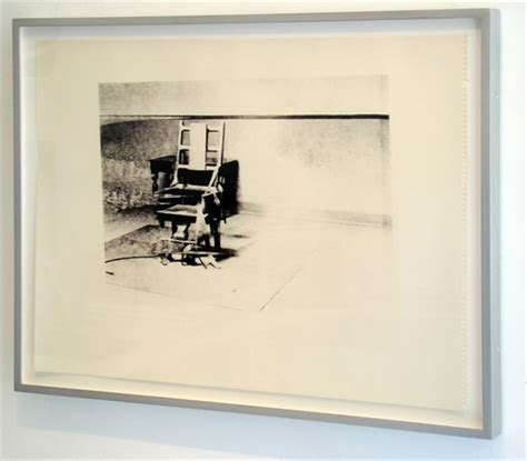 electric chair retrospective series authenticated by