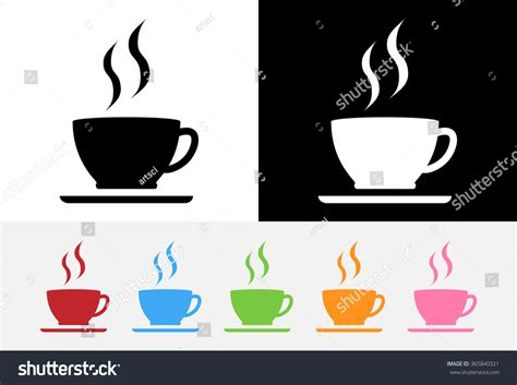 Color Coffee Cup Logo Vector Stock Vector 365840321 Bialetti Elegance Coffee Maker Tassimo Pods 3 For �10 Shelf Life Are Good You Buy Robusta Beans Online Rate In Karnataka Green Extract Patent Does It Work