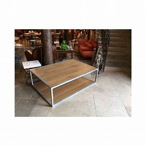 Table Basse Loft : table basse loft harmonie du logis ~ Teatrodelosmanantiales.com Idées de Décoration