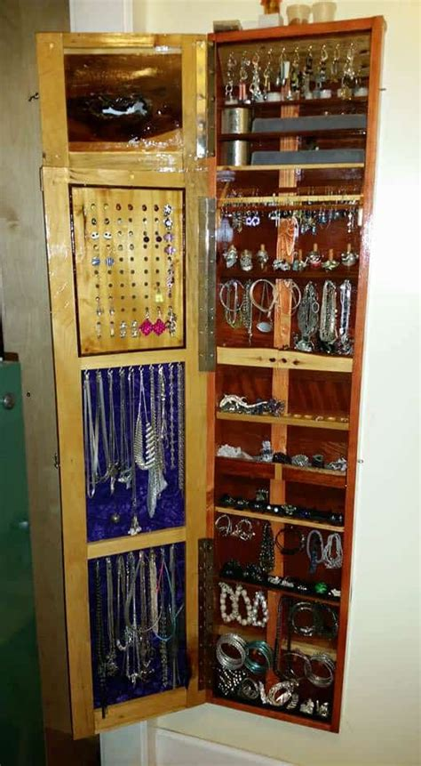 jewelry pallet armoire  profile wall hung  pallets