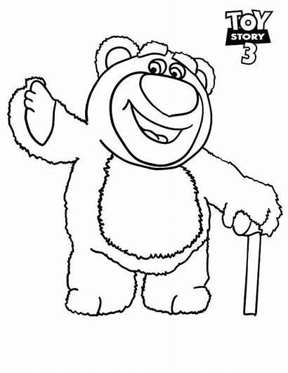 Toy Story Coloring Printable Bear Colorear Lots
