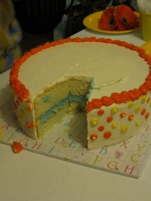 what of cake should i make clicky how should i make my gender reveal cake the bump