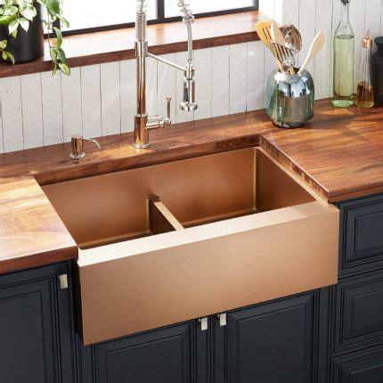 atlas double bowl stainless steel farmhouse sink bronze stainless steel farmhouse sink