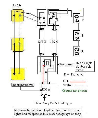 Wiring Diagram House To Shed by Wiring Diagram For Detached Garage Wiring Diagram