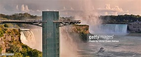 Niagara Falls Observation Tower American Falls And The ...