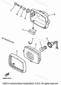 Yamaha Atv 1998 Oem Parts Diagram For Headlight